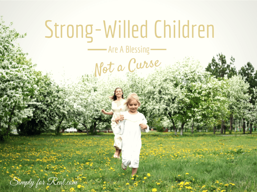 Strong-Willed Children Are a Blessing, Not a Curse