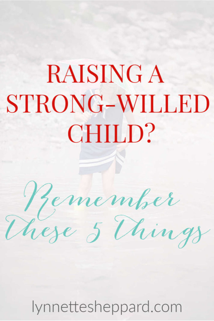 5 things to remember when you are raising a strong-willed child