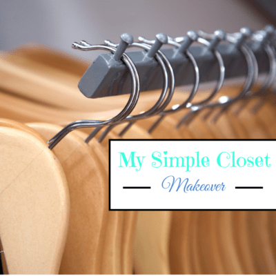 My Simple Closet Makeover