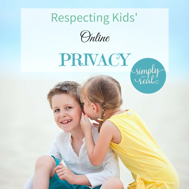 Respecting Kids' privacy
