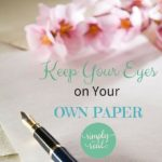 Keep Your Eyes on Your Own Paper