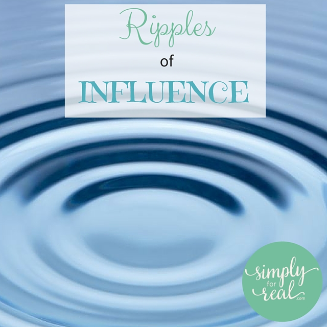 Ripples of influence