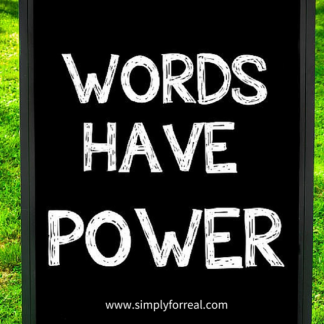 words have power blog