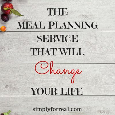 The Meal Planning Service That Will Change Your Life