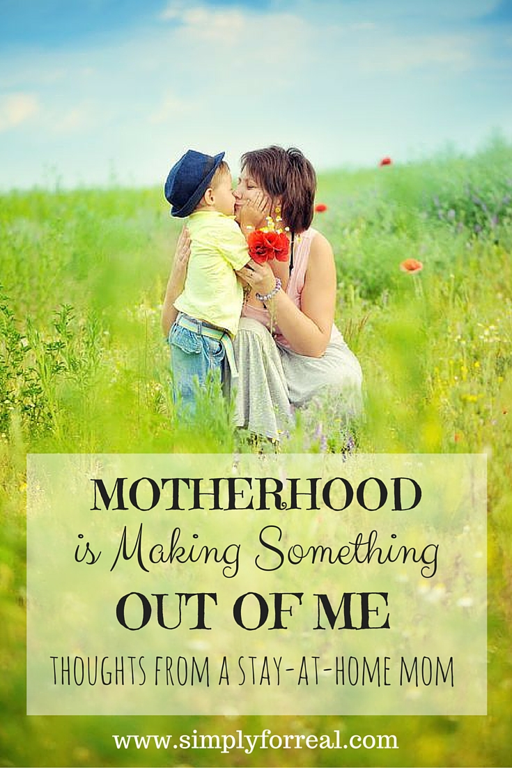 Sometimes being a stay at home mom feels like unimportant work. But it is not. It is difficult. It is life-changing. It is enough.