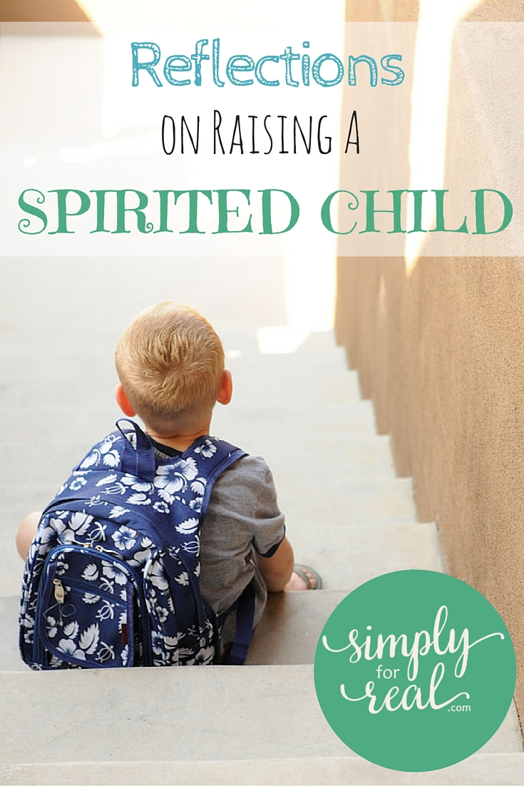 Reflections on Raising a Spirited Child