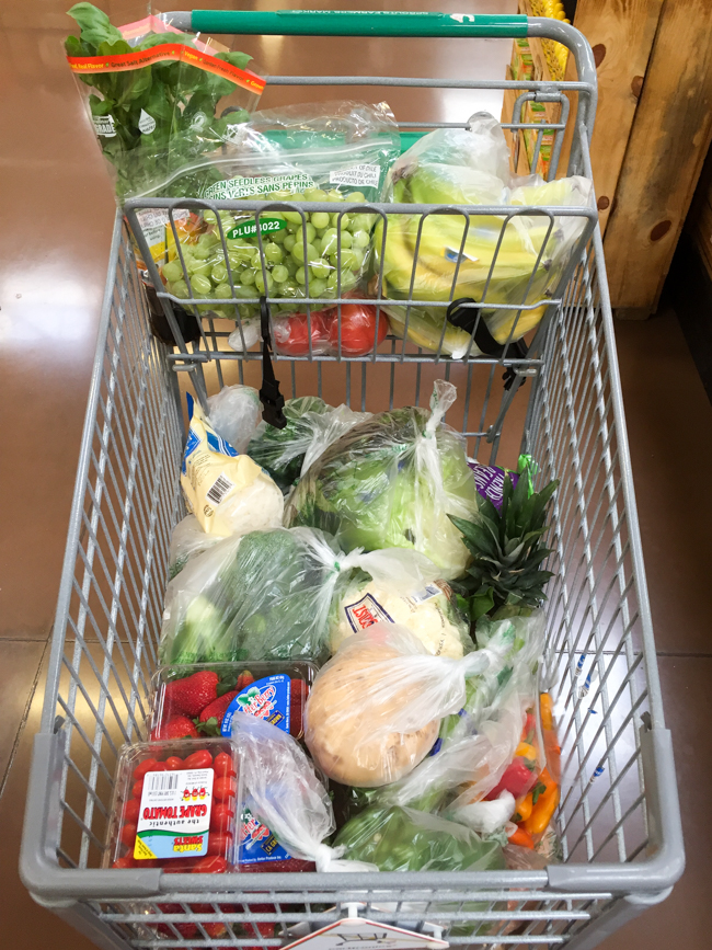 grocery cart-2
