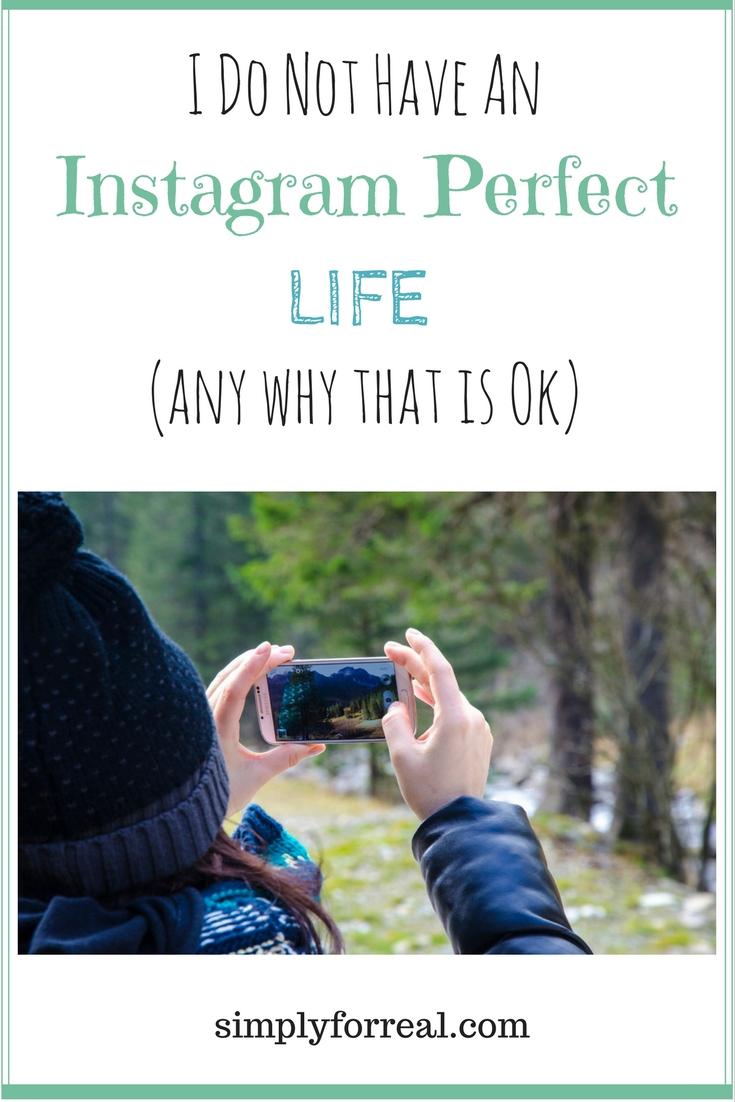 Instagram Perfect Life