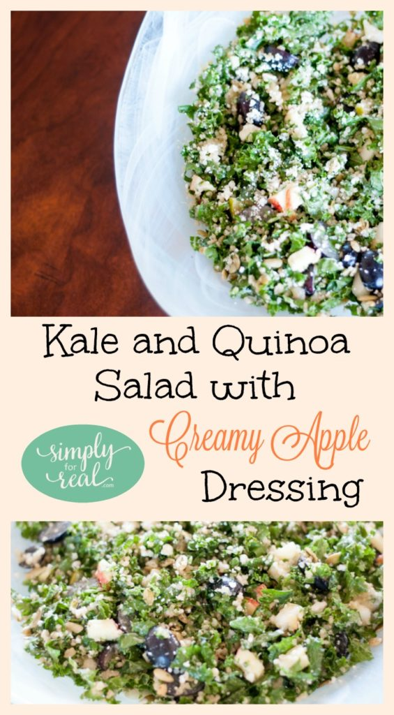 Are you ready to hop on the kale bandwagon? This nutrient-rich and delicious salad is packed full of fall flavors and sure to be hit at your table.