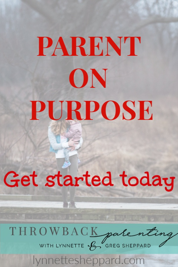 Parent on purpose with Amy Carney