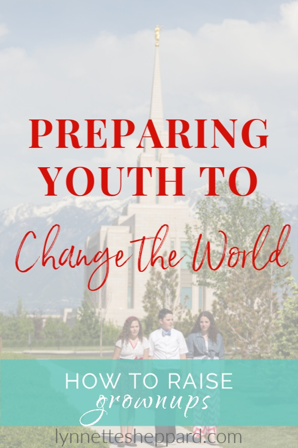 Preparing the Rising Generation to Change the World