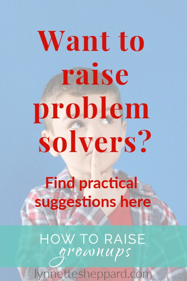 Practical strategies for raising problem solvers