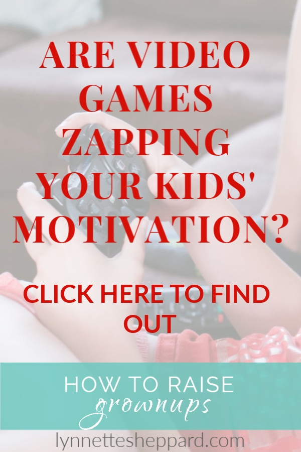 Are video games zapping your kids' motivation?